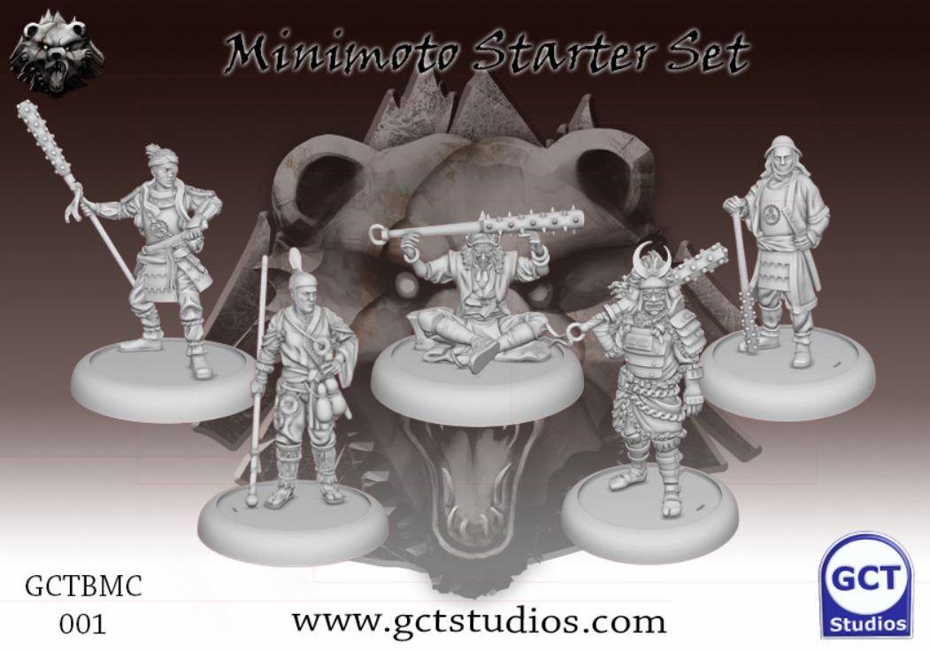 Bushido: The Minimoto ClanArrives